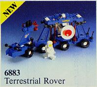 BrickLink - Set 6883-1 : Lego Terrestrial Rover [Space:Classic Space] -  BrickLink Reference Catalog