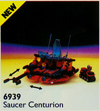 BrickLink - Set 6939-1 : Lego Saucer Centurion [Space:Spyrius] - BrickLink  Reference Catalog
