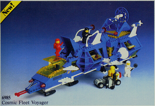 BrickLink - Set 6985-1 : Lego Cosmic Fleet Voyager [Space:Classic Space] -  BrickLink Reference Catalog