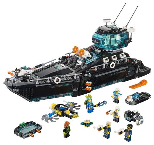 Bricklink Set 70173 1 Lego Ultra Agents Ocean Hq Ultra Agents