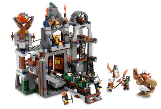 Bricklink Set 7036 1 Lego Dwarves Mine Castlefantasy Era