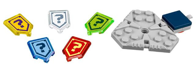 Lego nexo Knights-sticker nº 210-Blue Ocean