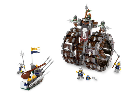 BrickLink - Set 7041-1 : Lego Troll Battle Wheel [Castle:Fantasy Era