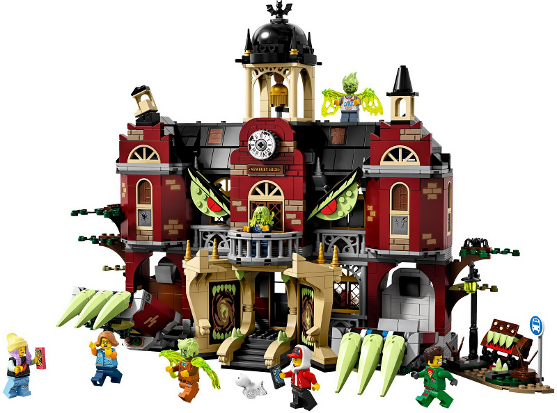 Bricklink Set 70425 1 Lego Newbury Haunted High School Hidden Side Bricklink Reference Catalog