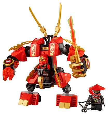 New LEGO 70500 STICKER SHEET Decals ONLY from Ninjago Kai/'s No Brick Parts