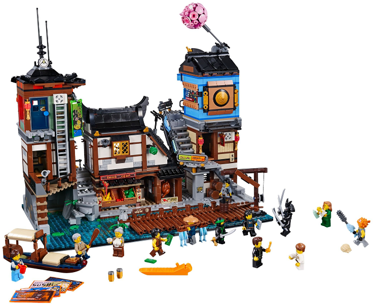 Bricklink Set 70657 1 Lego Ninjago City Docks The Lego Ninjago Movie Bricklink Reference Catalog