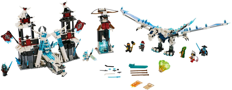 Bricklink Set 70678 1 Lego Castle Of The Forsaken Emperor Ninjago Secrets Of The Forbidden Spinjitzu Bricklink Reference Catalog