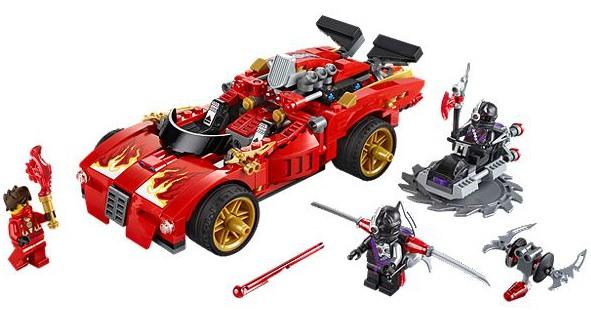 Bricklink Set 70727 1 Lego X 1 Ninja Charger Ninjagorebooted