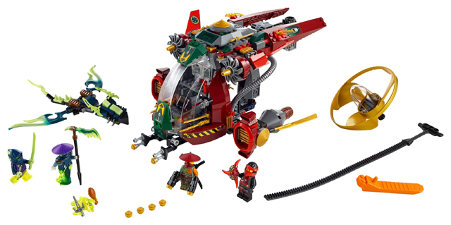 Bricklink Set 70735 1 Lego Ronin R E X Ninjago Possession Airjitzu Flyers Bricklink Reference Catalog