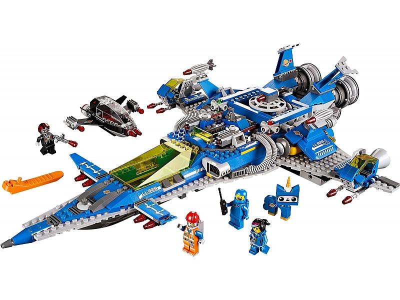 Bricklink Set 70816 1 Lego Bennys Spaceship Spaceship