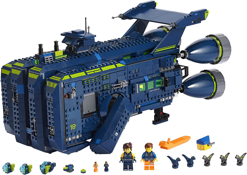 Bricklink Set 70839 1 Lego The Rexcelsior The Lego Movie 2 Bricklink Reference Catalog