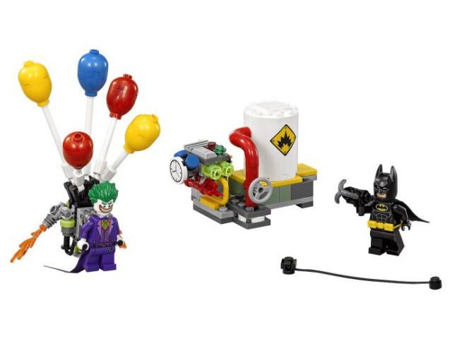 The Joker Balloon Escape LEGO The Batman Movie 70900 Brand New /& Sealed