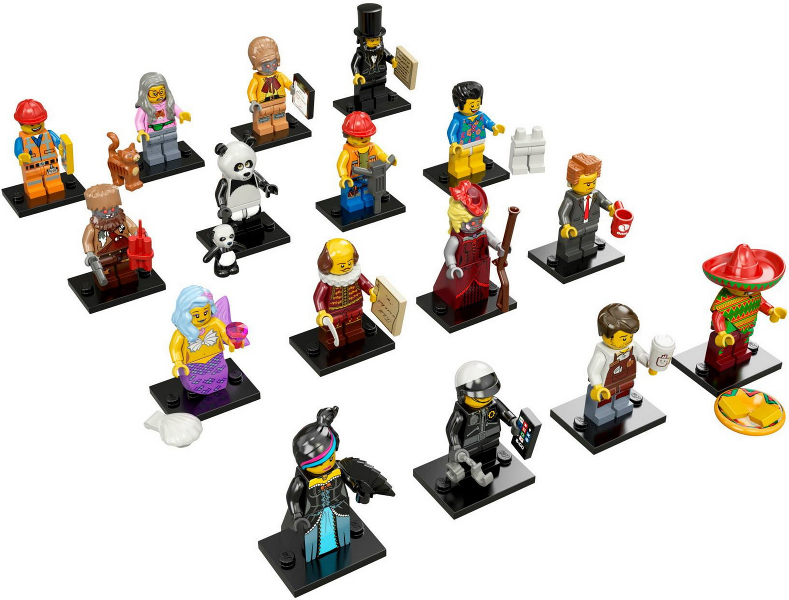 Bricklink Set 71004 2 Lego Minifigure The Lego Movie Complete Series Of 16 Complete Minifigure Sets Collectible Minifigures The Lego Movie Bricklink Reference Catalog