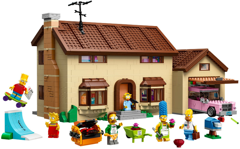 Bricklink Set 71006 1 Lego The Simpsons House The Simpsons Bricklink Reference Catalog