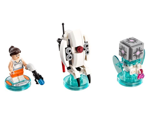 LEGO BESTPRICE NEW PORTAL 2-71203 DIMENSIONS CHELL LEVEL PACK TOY TAG