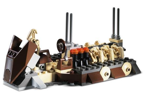 Bricklink Set 7126 1 Lego Battle Droid Carrier Star Warsstar