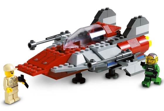Bricklink Set 7134 1 Lego A Wing Fighter Star Warsstar Wars
