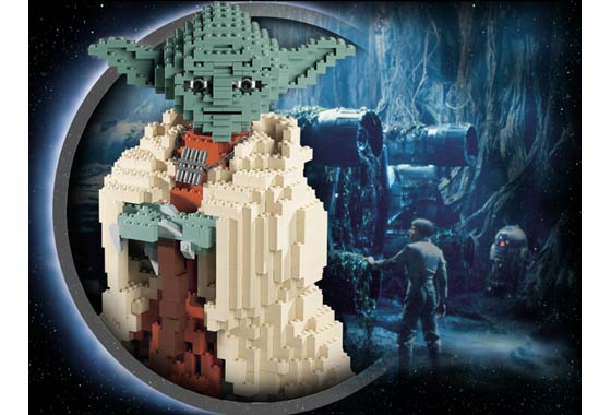 Lego Star Wars 7194 Yoda UCS Custom Sticker