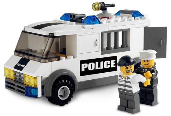 Bricklink Set 7245 1 Lego Prisoner Transport Blackgreen