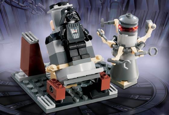 Bricklink Set 7251 1 Lego Darth Vader Transformation Star Wars