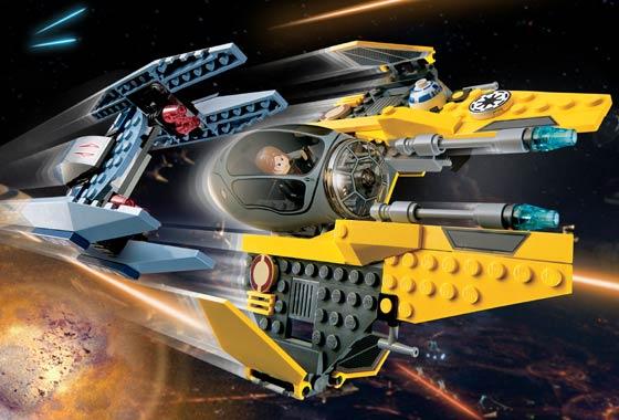 Bricklink Set 7256 1 Lego Jedi Starfighter Vulture Droid Star