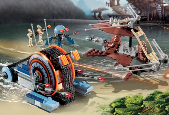BrickLink - Set 7258-1 : Lego Wookiee Attack [Star Wars:Star Wars Episode  3] - BrickLink Reference Catalog