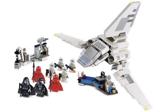 BrickLink - Set 7264-1 : Lego Imperial Inspection [Star Wars:Star ...