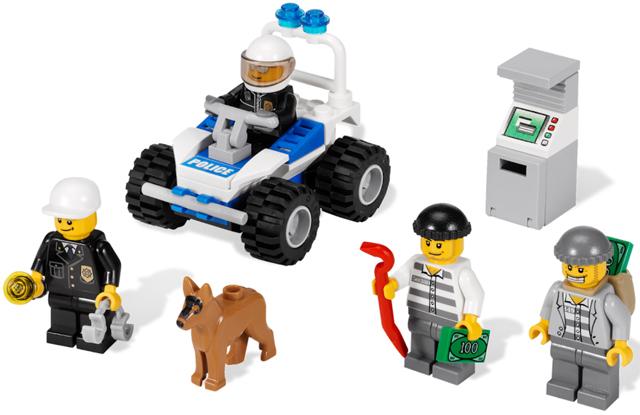 Bricklink Set 7279 1 Lego Police Minifigure Collection Town