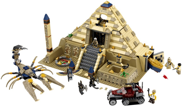 Bricklink Set 7327 1 Lego Scorpion Pyramid Pharaohs Quest