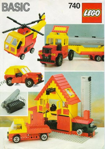 Bricklink Set 740 1 Lego Basic Building Set Universal Building