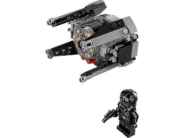 75031-1 TIE INTERCEPTOR 2014 Lego Sets 100/% STAR WARS microfighters EP 4//5//6