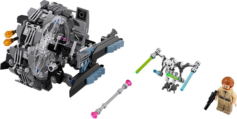 Bricklink Set 75040 1 Lego General Grievous Wheel Bike Star