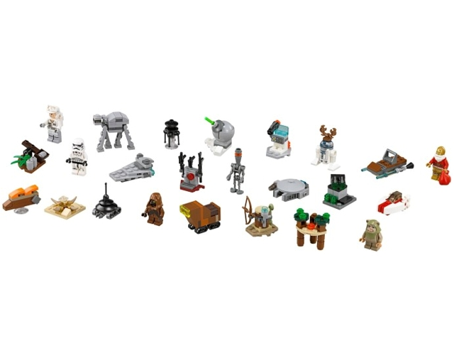Calendrier Avent Lego Star Wars 2019.Bricklink Set 75097 1 Lego Advent Calendar 2015 Star