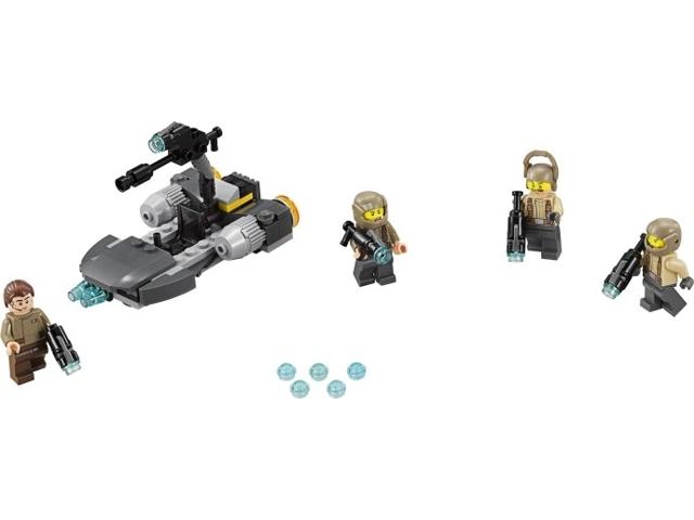 Set 75131 Star Wars ™ sw0699 Figurine Resistance Officer Headset LEGO ®