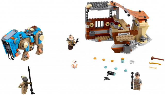 LEGO 75148 Star Wars Encounter on Jakku Brand New in Sealed Box