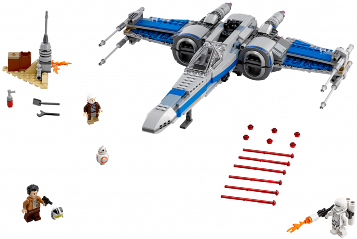 Bricklink Set 75149 1 Lego Resistance X Wing Fighter Star Wars