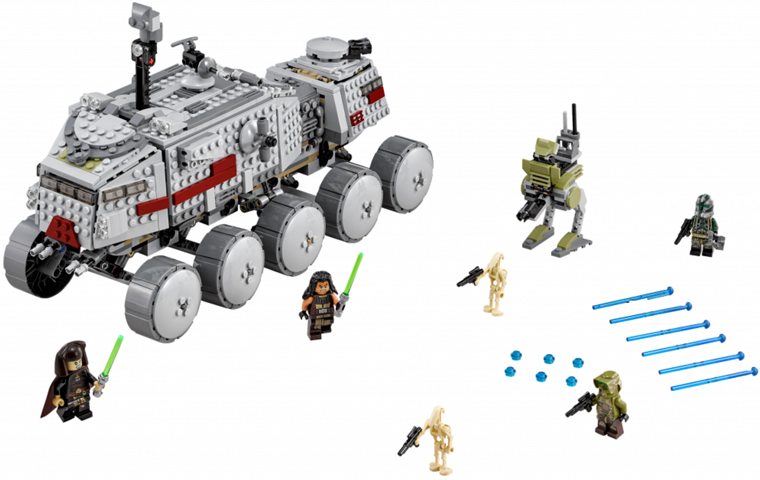 Bricklink Set 75151 1 Lego Clone Turbo Tank Star Wars Star Wars Episode 3 Bricklink Reference Catalog