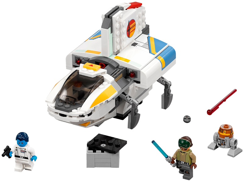 Bricklink Set 75170 1 Lego The Phantom Star Wars Star Wars Rebels Bricklink Reference Catalog