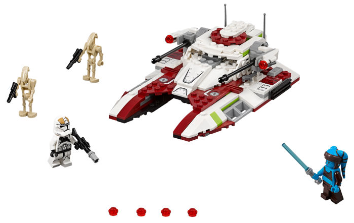 Bricklink Set 75182 1 Lego Republic Fighter Tank Star Wars Star Wars Legends Bricklink Reference Catalog