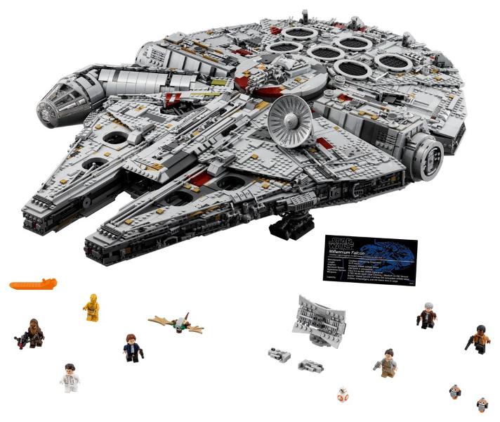 Bricklink Set 75192 1 Lego Millennium Falcon Ucs 2nd Edition