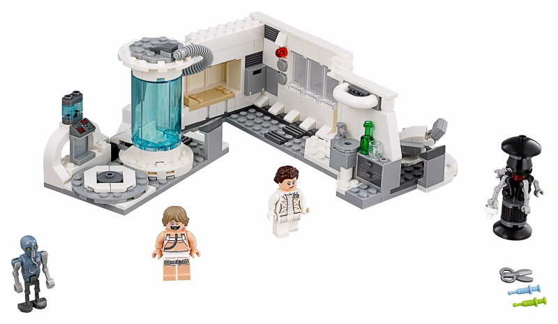 Bricklink Set 75203 1 Lego Hoth Medical Chamber Star Wars Star Wars Episode 4 5 6 Bricklink Reference Catalog
