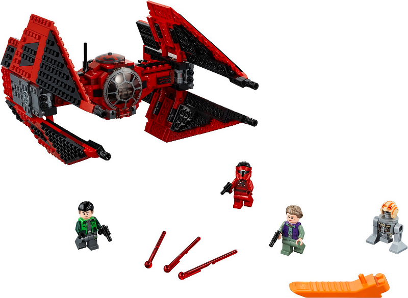 Bricklink Set 75240 1 Lego Major Vonreg S Tie Fighter Star Wars Star Wars Resistance Bricklink Reference Catalog