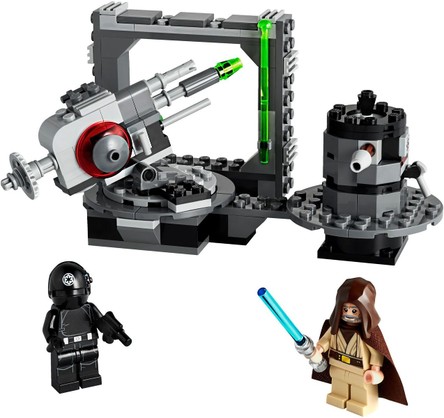 Bricklink Set 75246 1 Lego Death Star Cannon Star Wars Star Wars Episode 4 5 6 Bricklink Reference Catalog