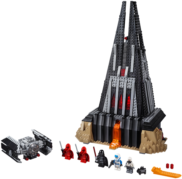 Bricklink Set 75251 1 Lego Darth Vader S Castle Star Wars Star Wars Other Bricklink Reference Catalog