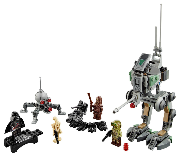 Bricklink Set 75261 1 Lego Clone Scout Walker 20th Anniversary Edition Star Wars Star Wars Episode 3 Bricklink Reference Catalog