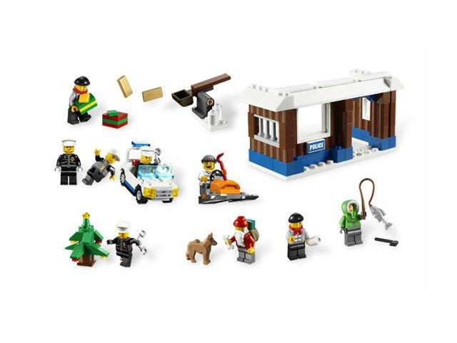 Bricklink Set 7553 1 Lego Advent Calendar 2011 City Holiday