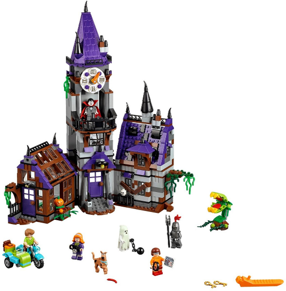 BrickLink - Set 75904-1 : Lego Mystery Mansion [Scooby-Doo ...