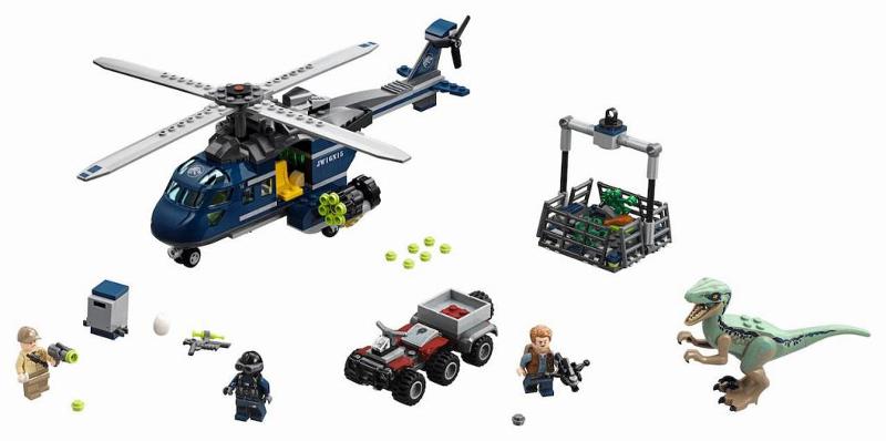 BrickLink - Set 75928-1 : Lego Blue's Helicopter Pursuit [Jurassic ...