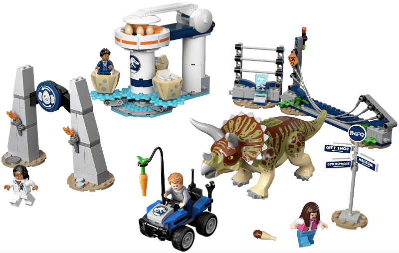 Bricklink Set 75937 1 Lego Triceratops Rampage Jurassic World Legend Of Isla Nublar Bricklink Reference Catalog