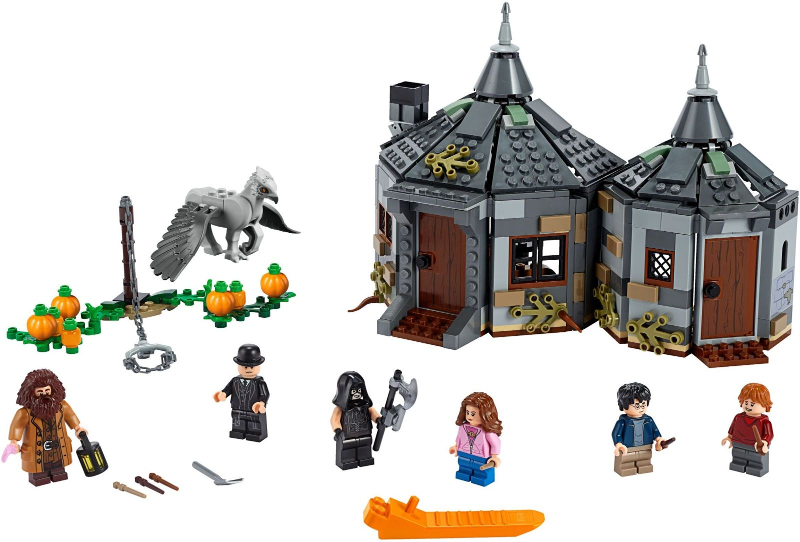 Bricklink Set 75947 1 Lego Hagrid S Hut Buckbeak S Rescue Harry Potter Prisoner Of Azkaban Bricklink Reference Catalog